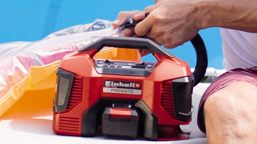Compresseur hybride pressito Einhell